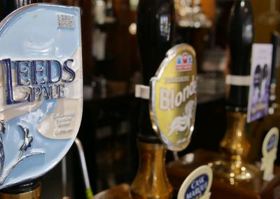 A range of quality beers and lagers
